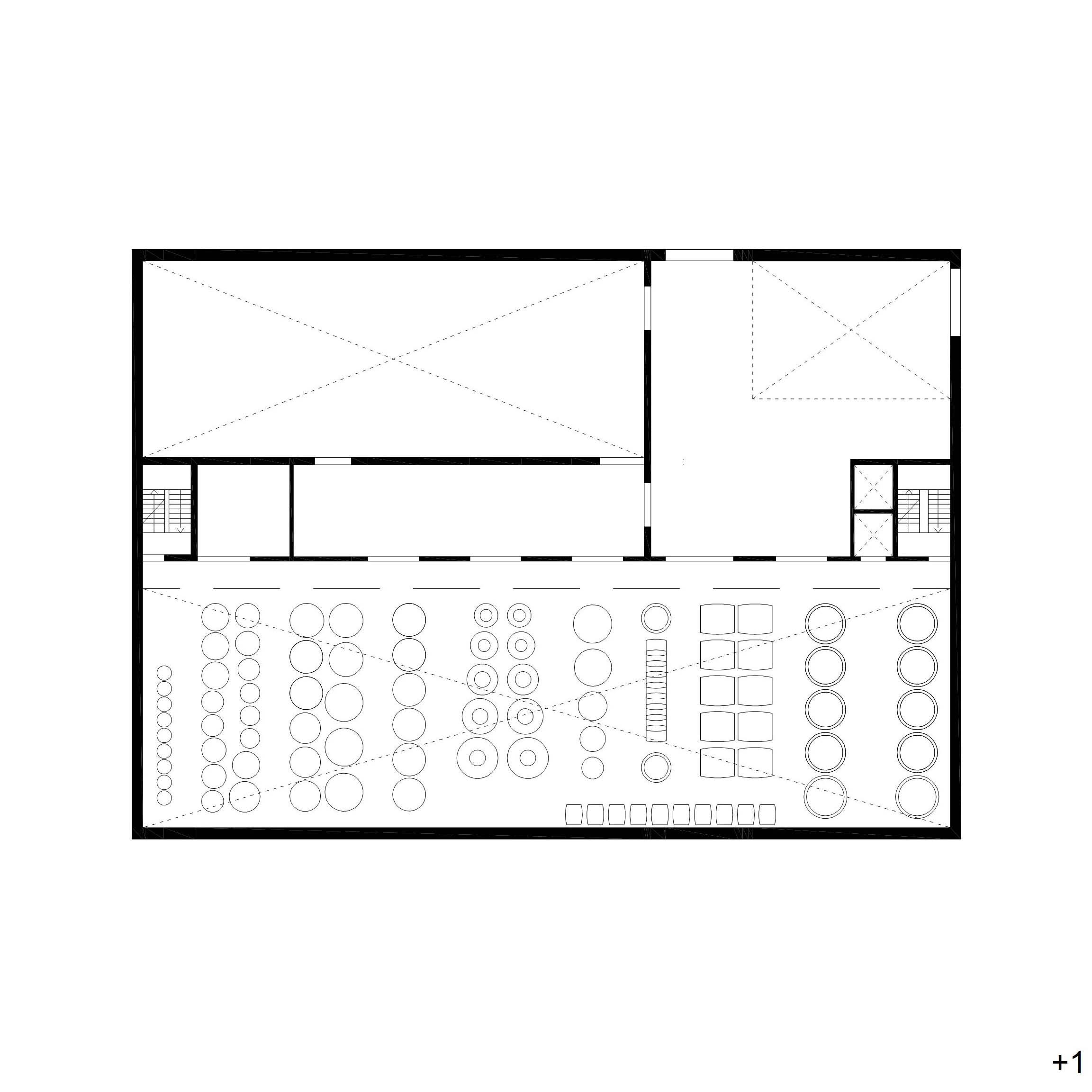 plan 1st floor dva arhitekta}