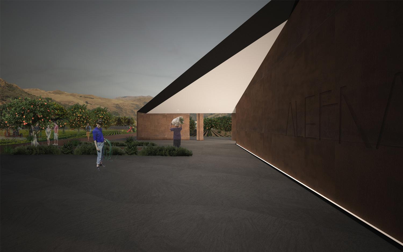 Render-Vista Nord Claudio Grasso & Federica Miranda Architects