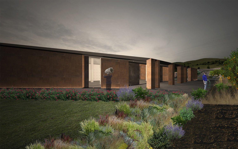 Render-Vista Est Claudio Grasso & Federica Miranda Architects
