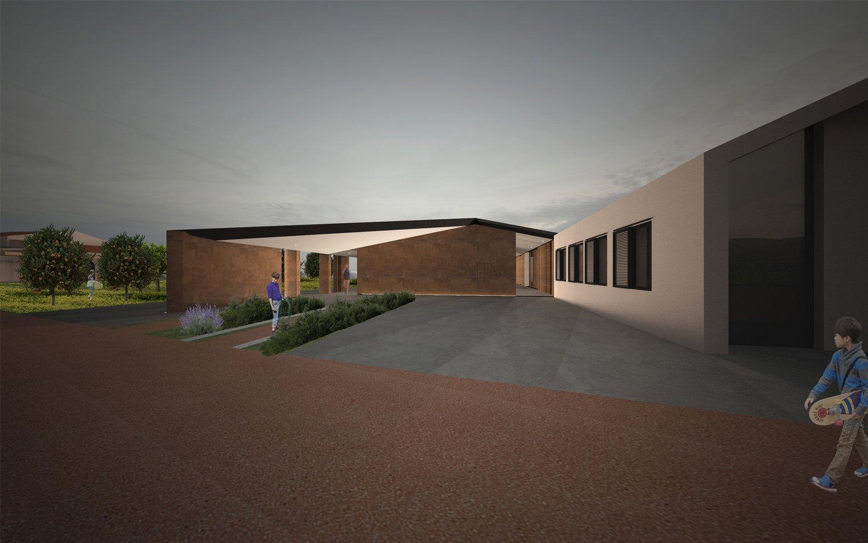 Render-Vista Ovest Claudio Grasso & Federica Miranda Architects
