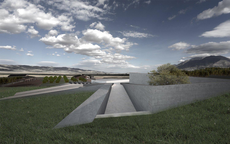 Render-Teatro Rurale Claudio Grasso & Federica Miranda Architects