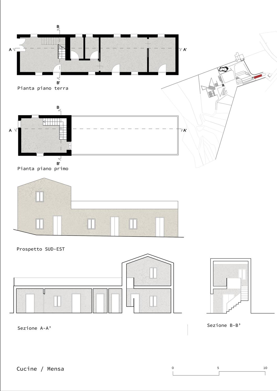 Cucine/Mensa Claudio Grasso & Federica Miranda Architects}
