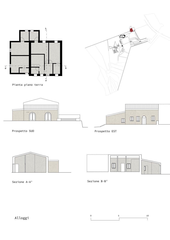 Alloggi Claudio Grasso & Federica Miranda Architects}