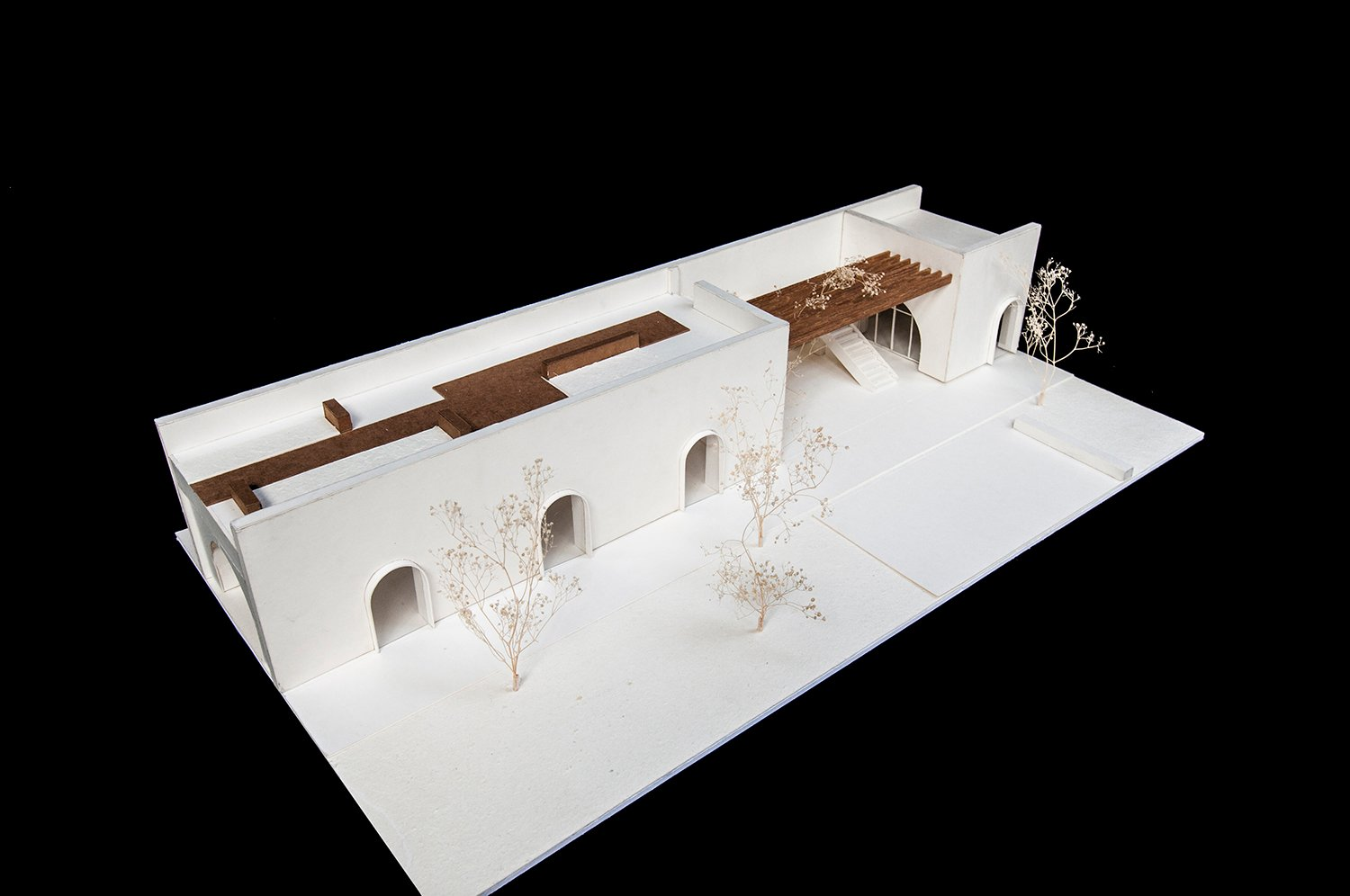 section model Interval Architects}