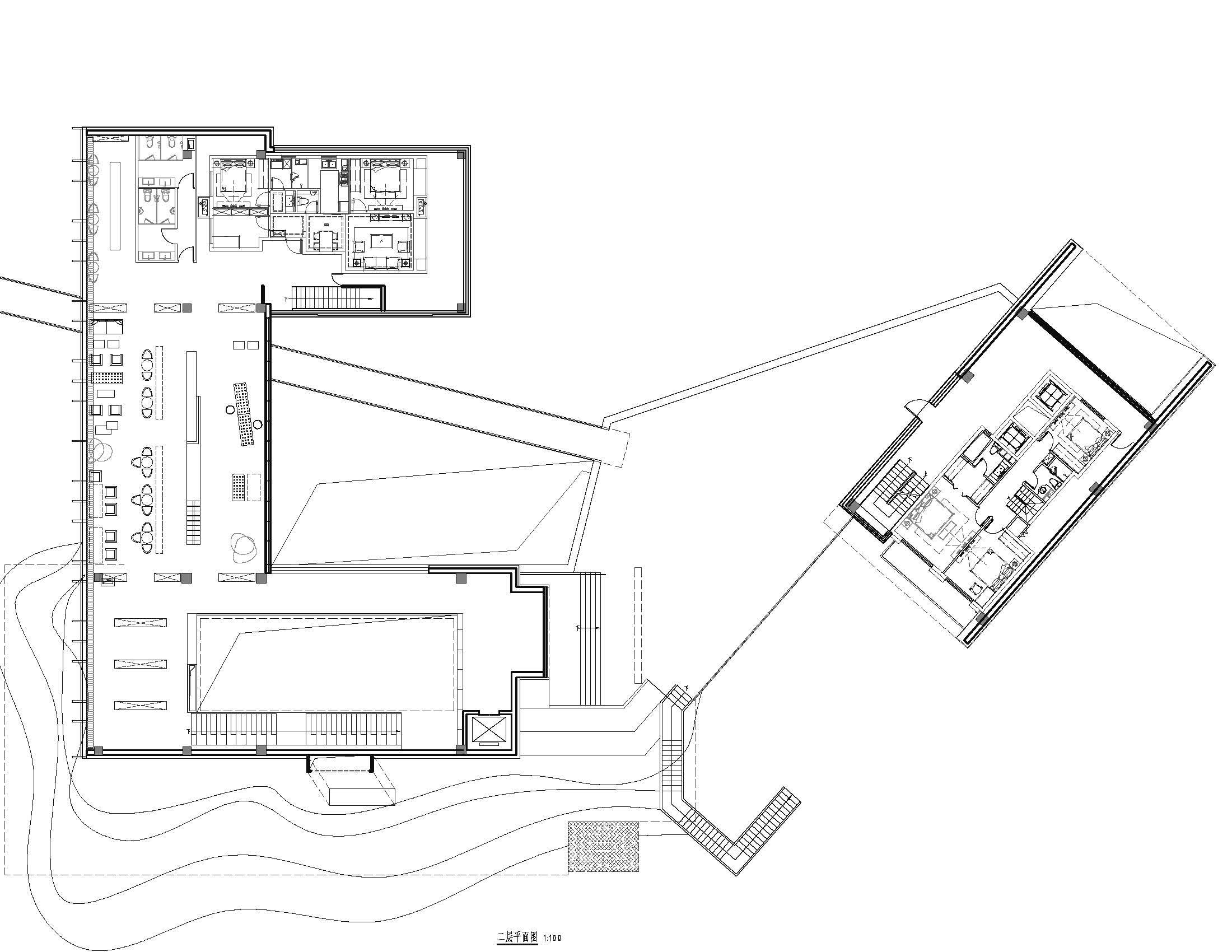 2F Plan Lacime Architects}
