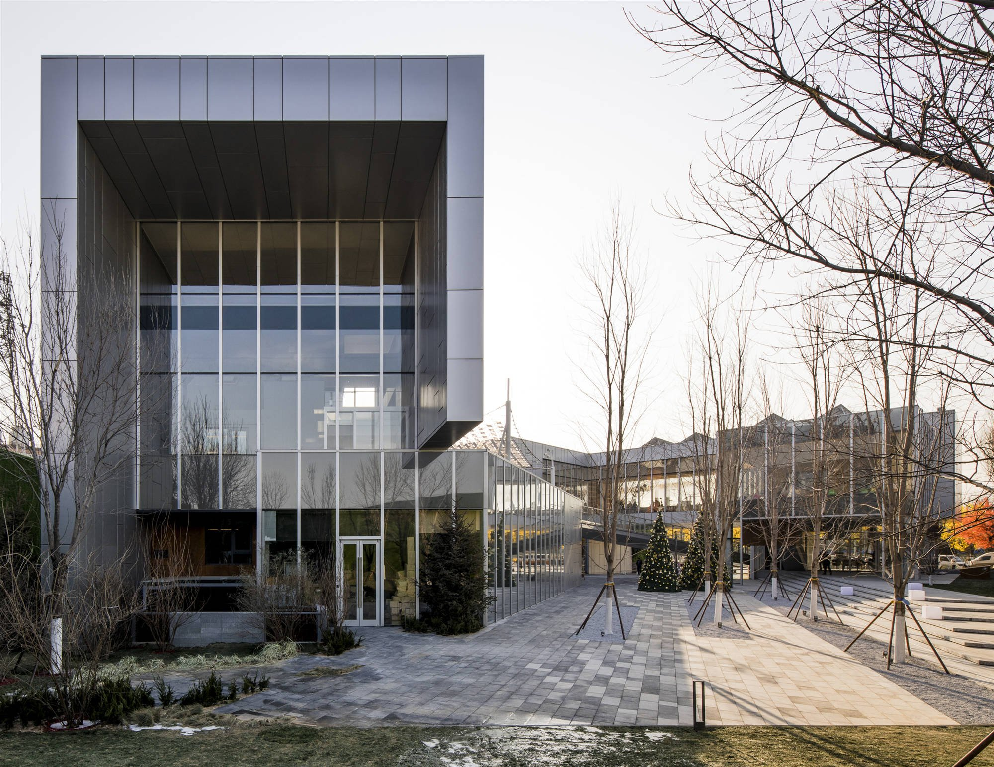 Internal Courtyard Lacime Architects