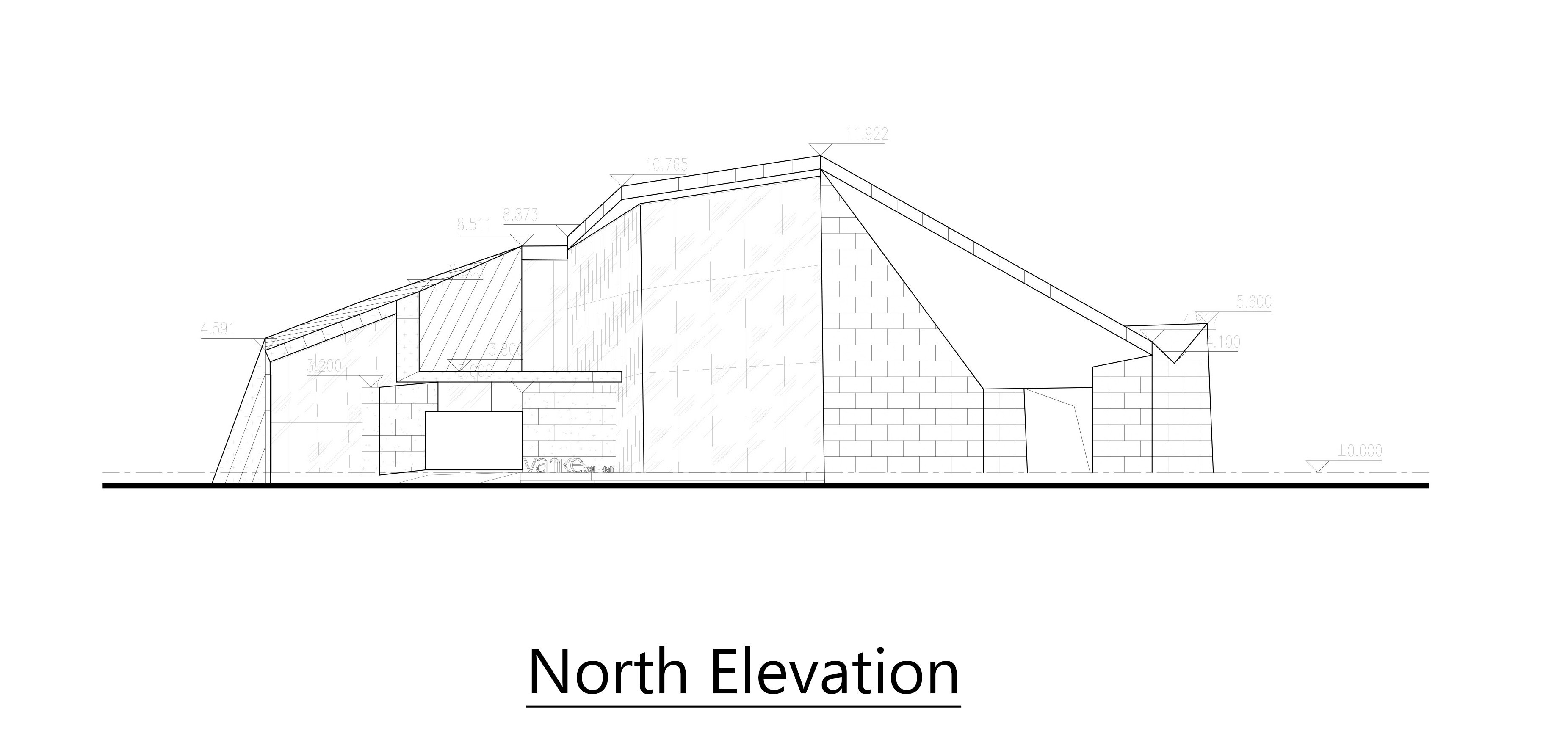 North Elevation Lacime Architects}