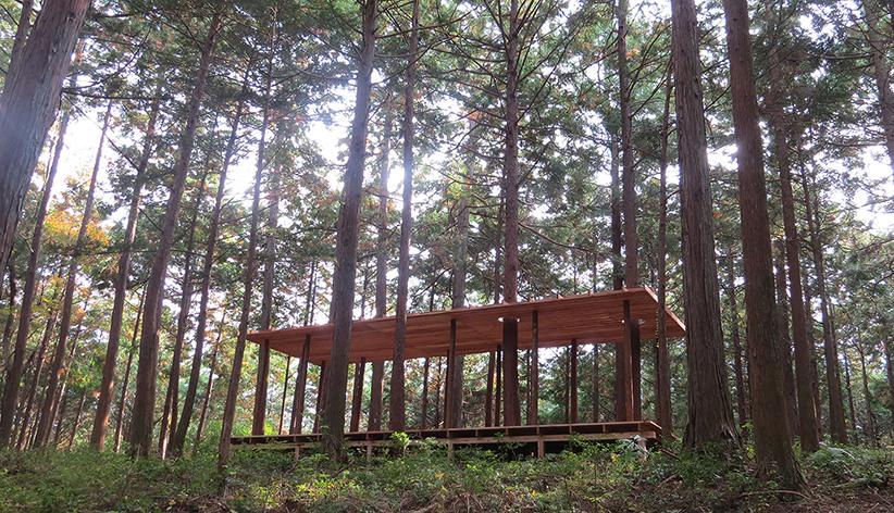 in-between pavilion, Oawa mountain, Japan x-studio : : Ivan Juarez