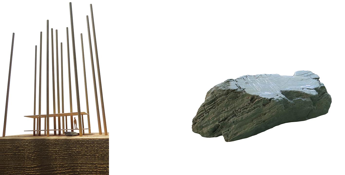 model-stone. in between pavilion, Oawa mountain, Japan x-studio : : Ivan Juarez}
