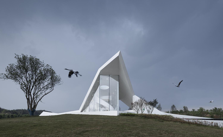Crane Pavilion Yao Li