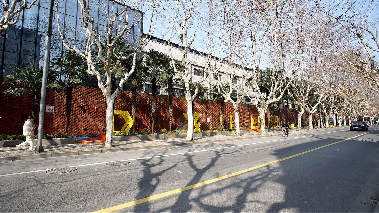 80 meters long, 3 meters wide obsolete walking path is turned into a stylish pocket park and playground Shanghai Design & Promotion Center for Urban Public Space