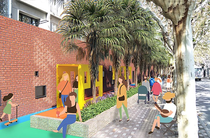 Rendering#2 of Shanghai Playscape Environmental Futures Lab.}