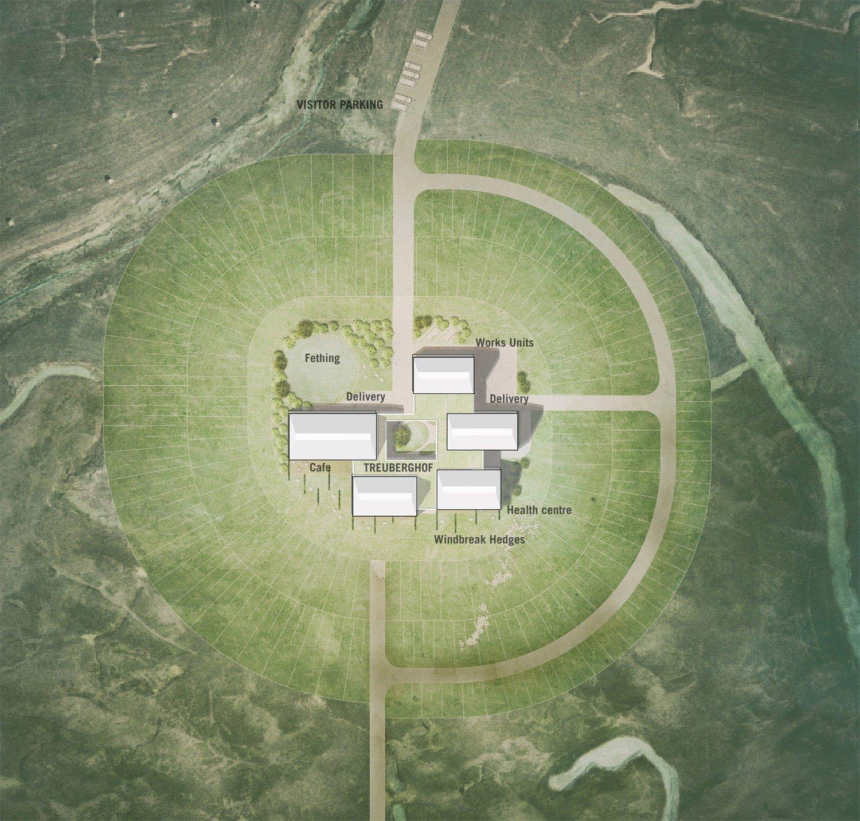 Site plan blauraum Architekten