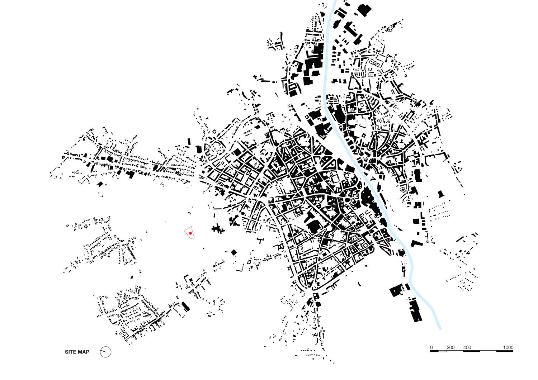Site map KAAN Architecten}