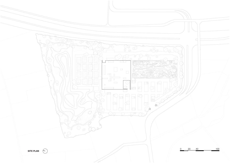 Zoomed site plan KAAN Architecten}