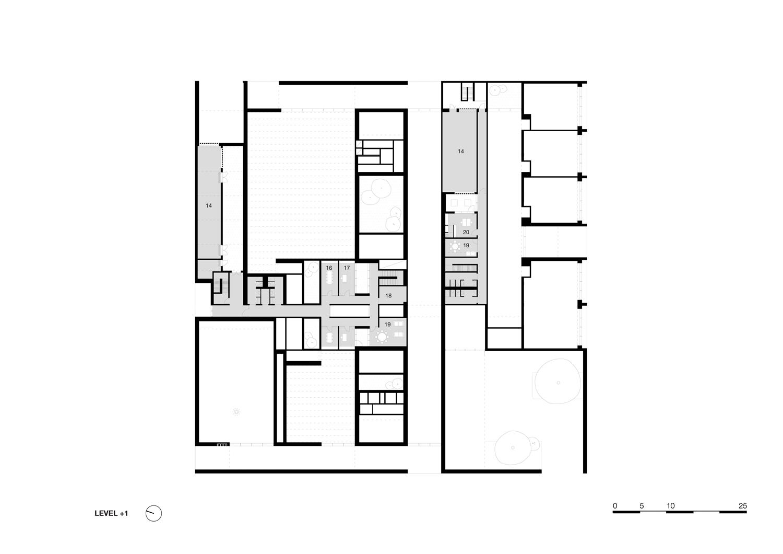 Floor plan 1 KAAN Architecten}