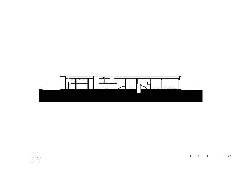 Section BB' KAAN Architecten}