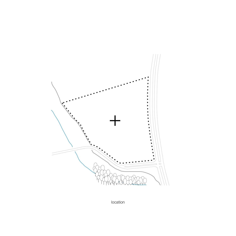 Scheme location KAAN Architecten}