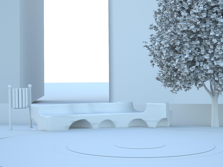 Virtual model - View n° 8 Roma Capitale - Arch .Tommaso Di Pierro