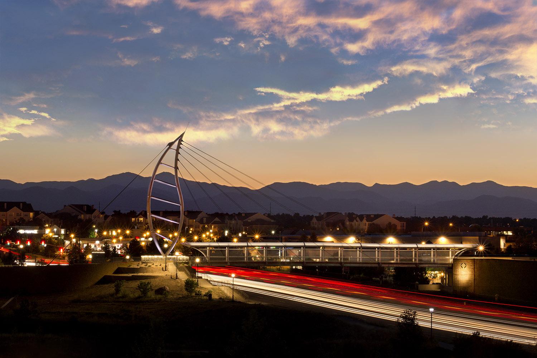 Overall view of the bridge © Michael Tamburello