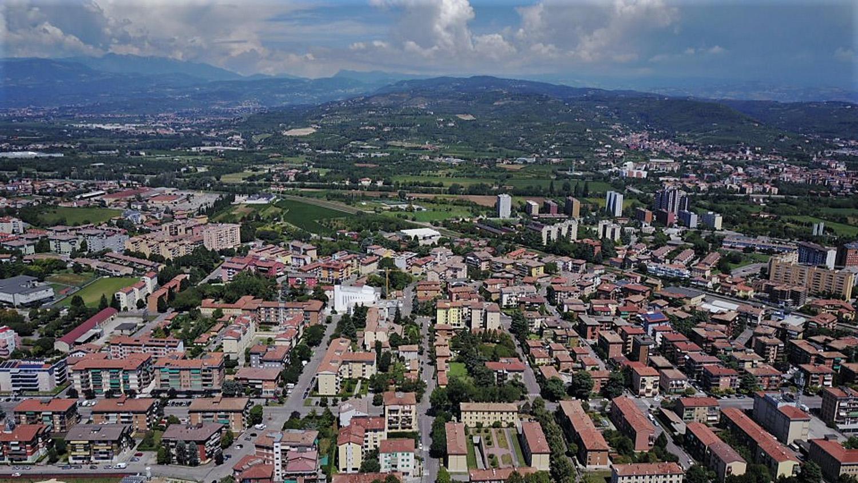 vista del quartiere di Borgo Nuovo dall'alto Marco Guerra