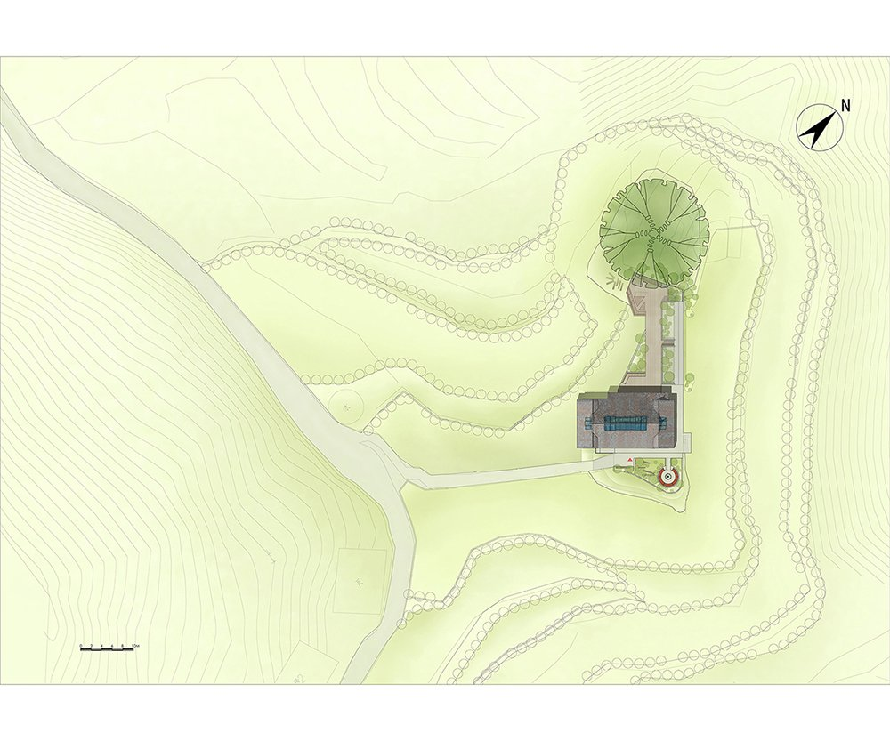Site Plan Studio A+}