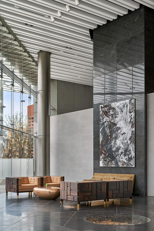 Lobby seating Dror Baldinger