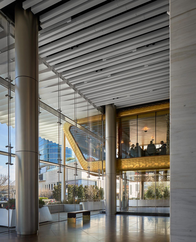 View of restaurant from lobby Dror Baldinger