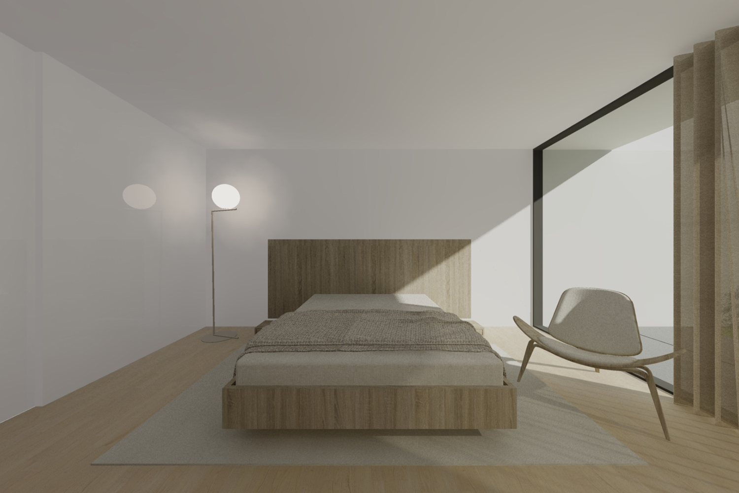 Bedroom Raulino Silva Architect