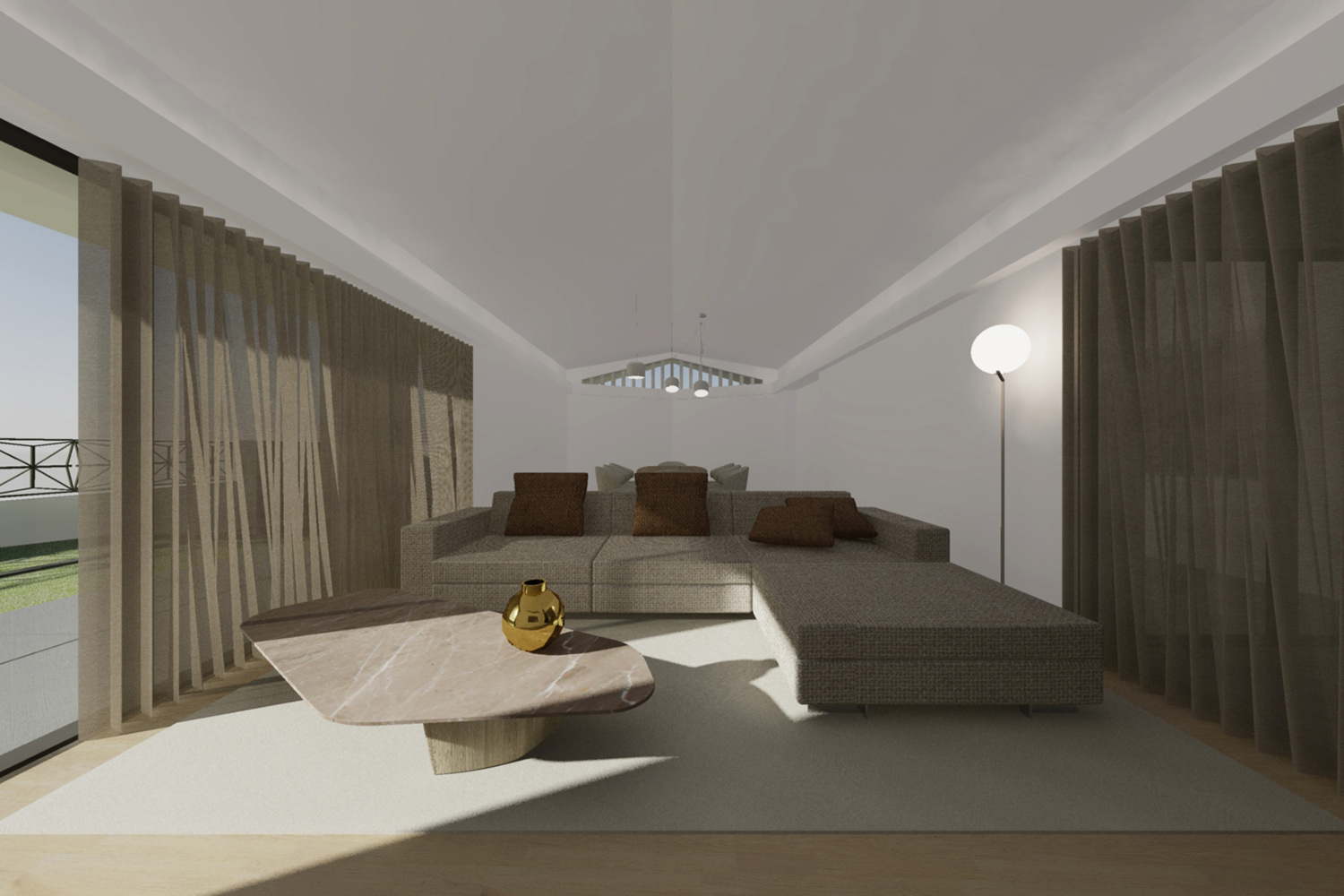Living room Raulino Silva Architect