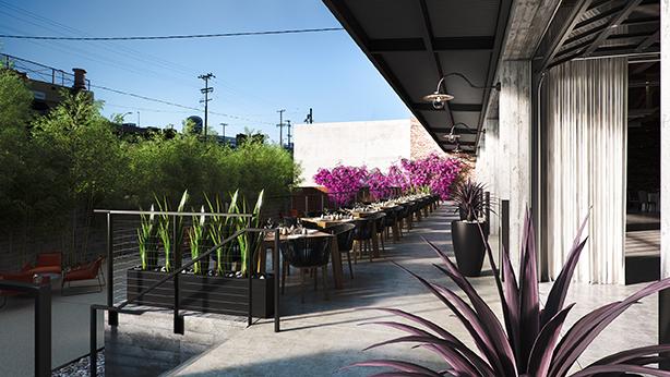 Rendering - Terrace Cocoon Studio}