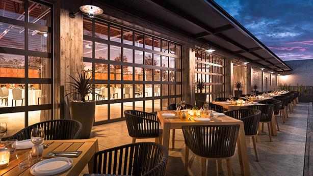 Rendering - Night view Terrace Cocoon Studio}