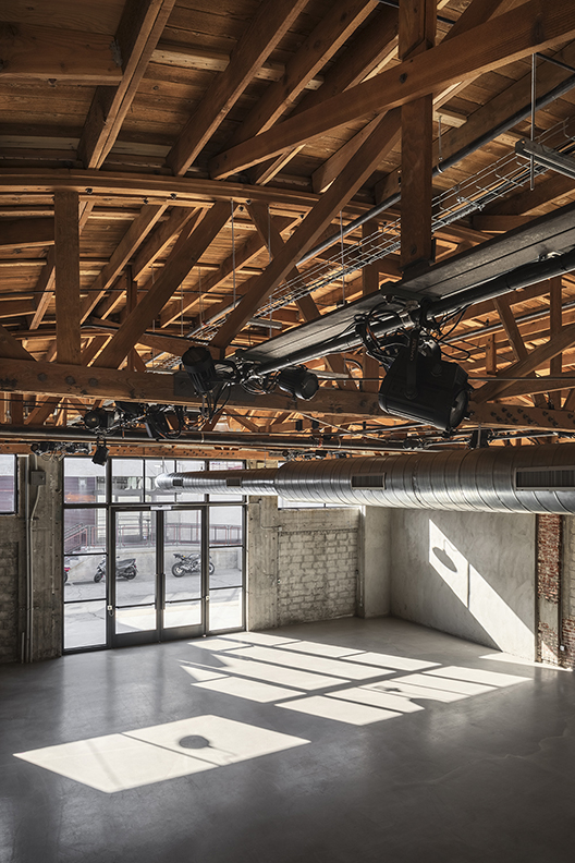 Small Hall - view from above Lawrence Anderson Photography Inc.