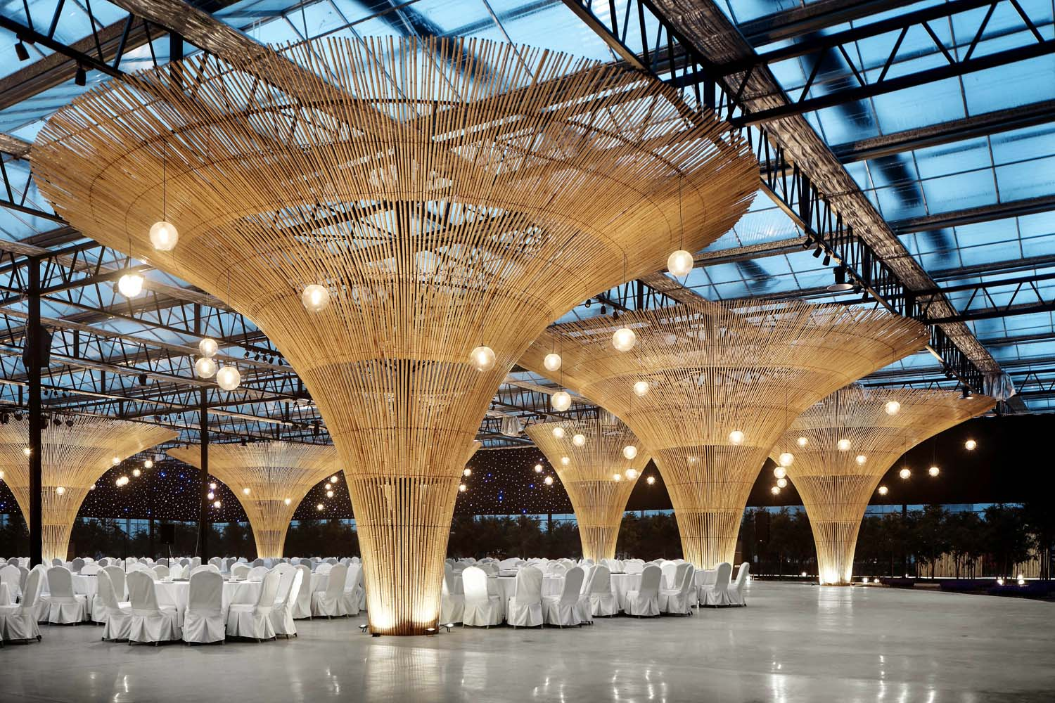 Bamboo structure Cong Lin