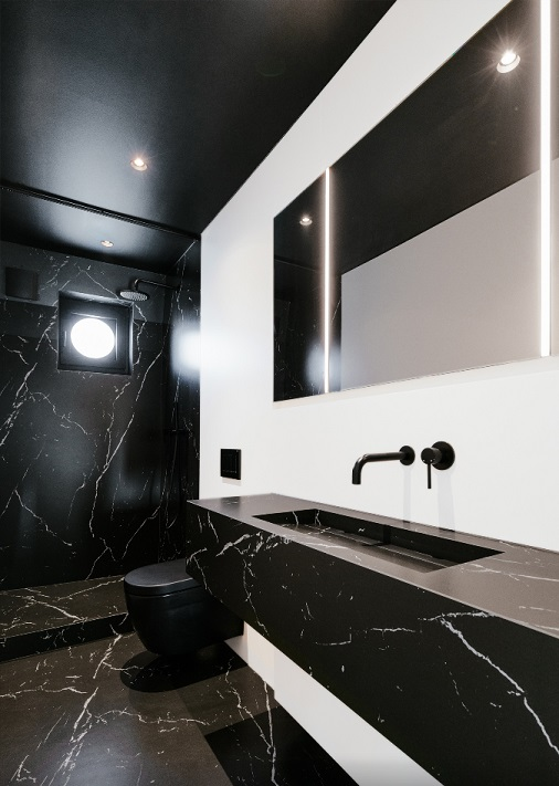 City House Brussels Shower Room Neolith® by TheSize