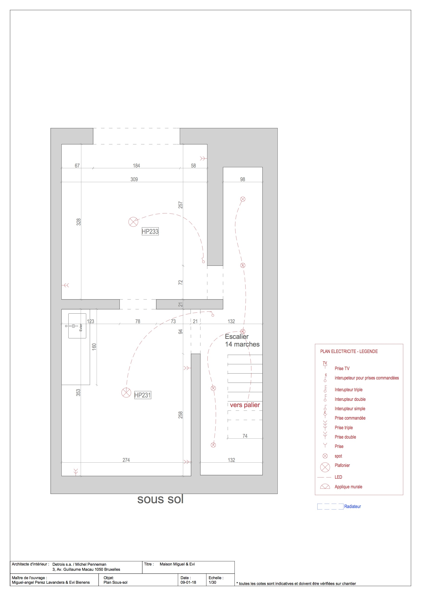 Floor Plans 1 Michel Penneman}