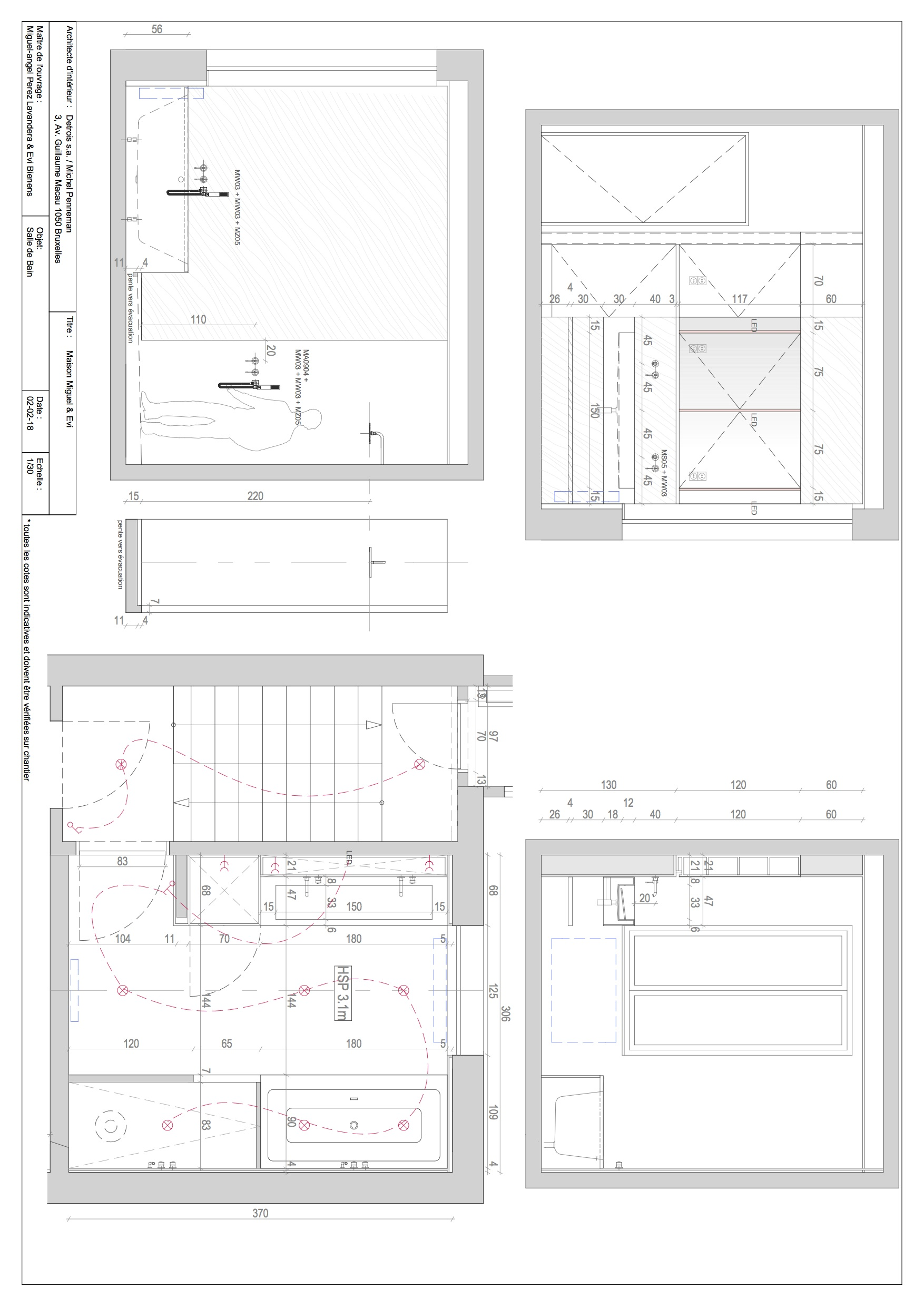 Floor Plan 5 Michel Penneman}