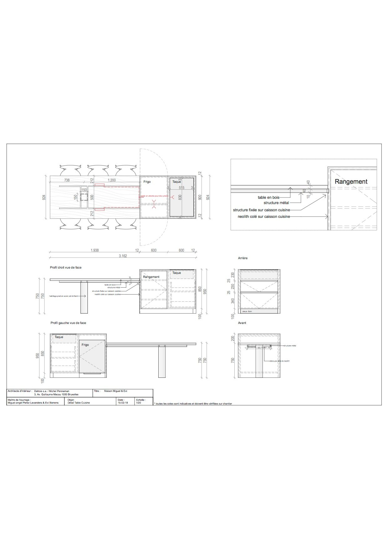 Floor Plan 6 Michel Penneman}