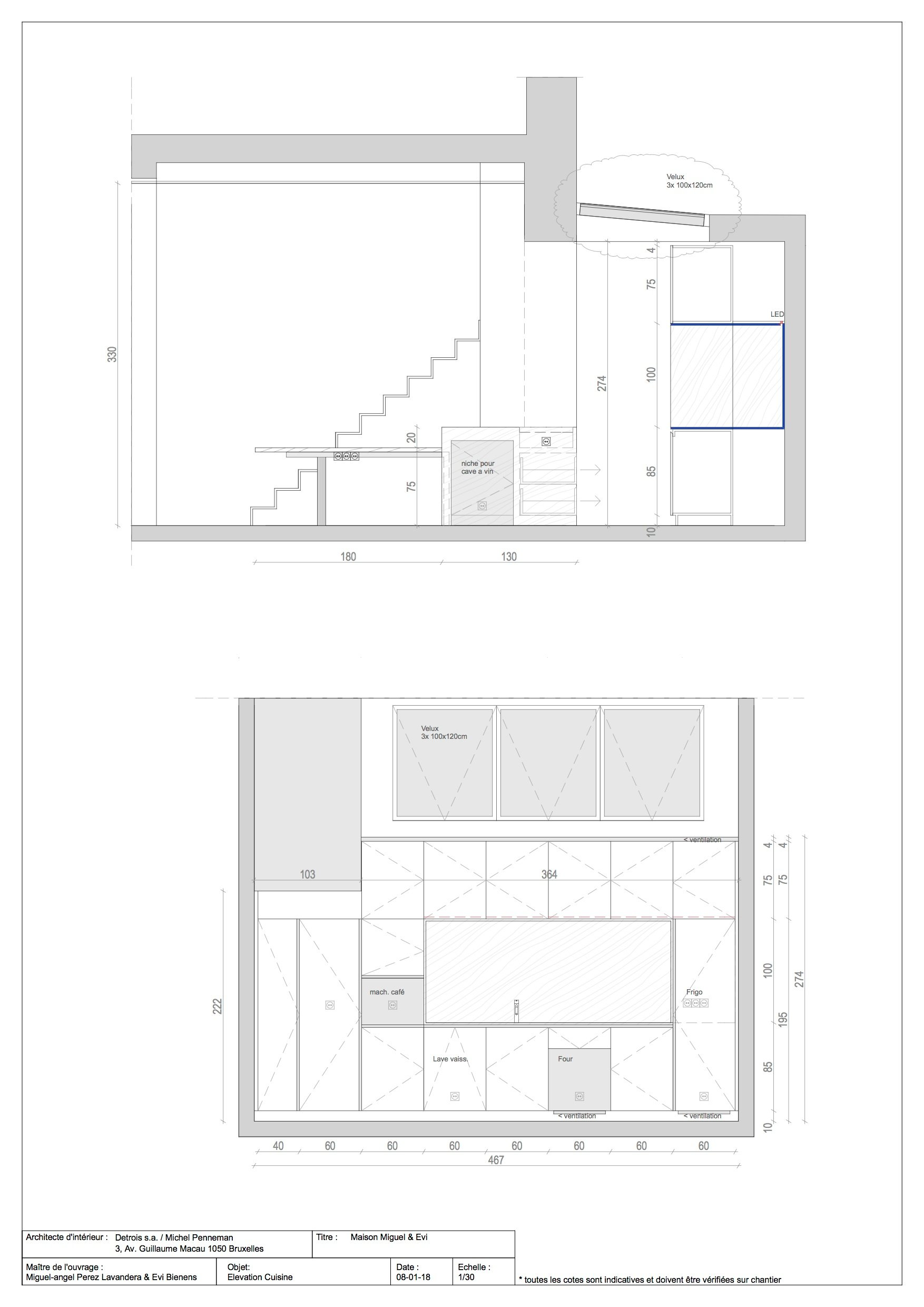 Floor Plan 3 Michel Penneman}
