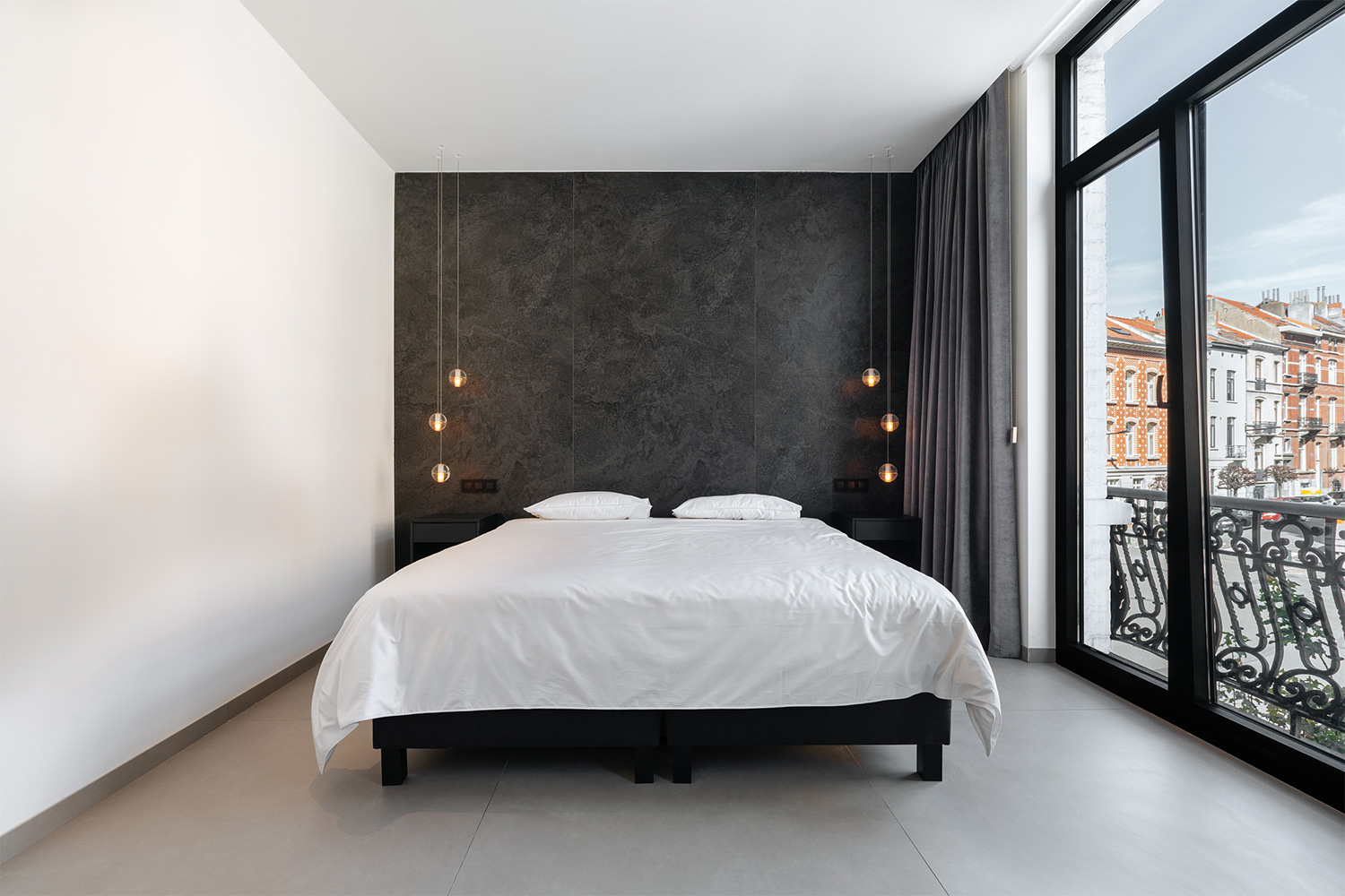 City House Brussels Master Bedroom Neolith® by TheSize