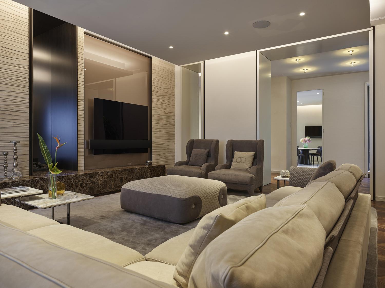 interior appartamento Beppe Raso