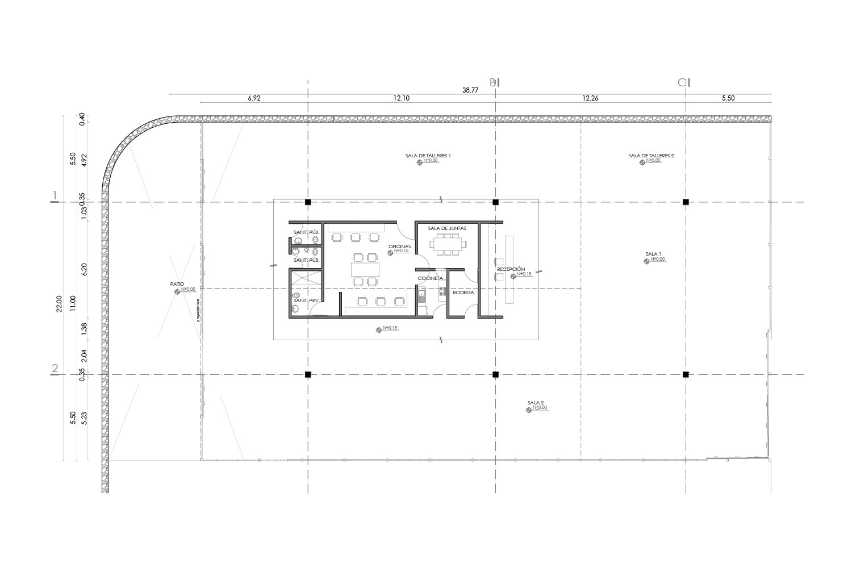 Floor Plan C Cubica Arquitectos}