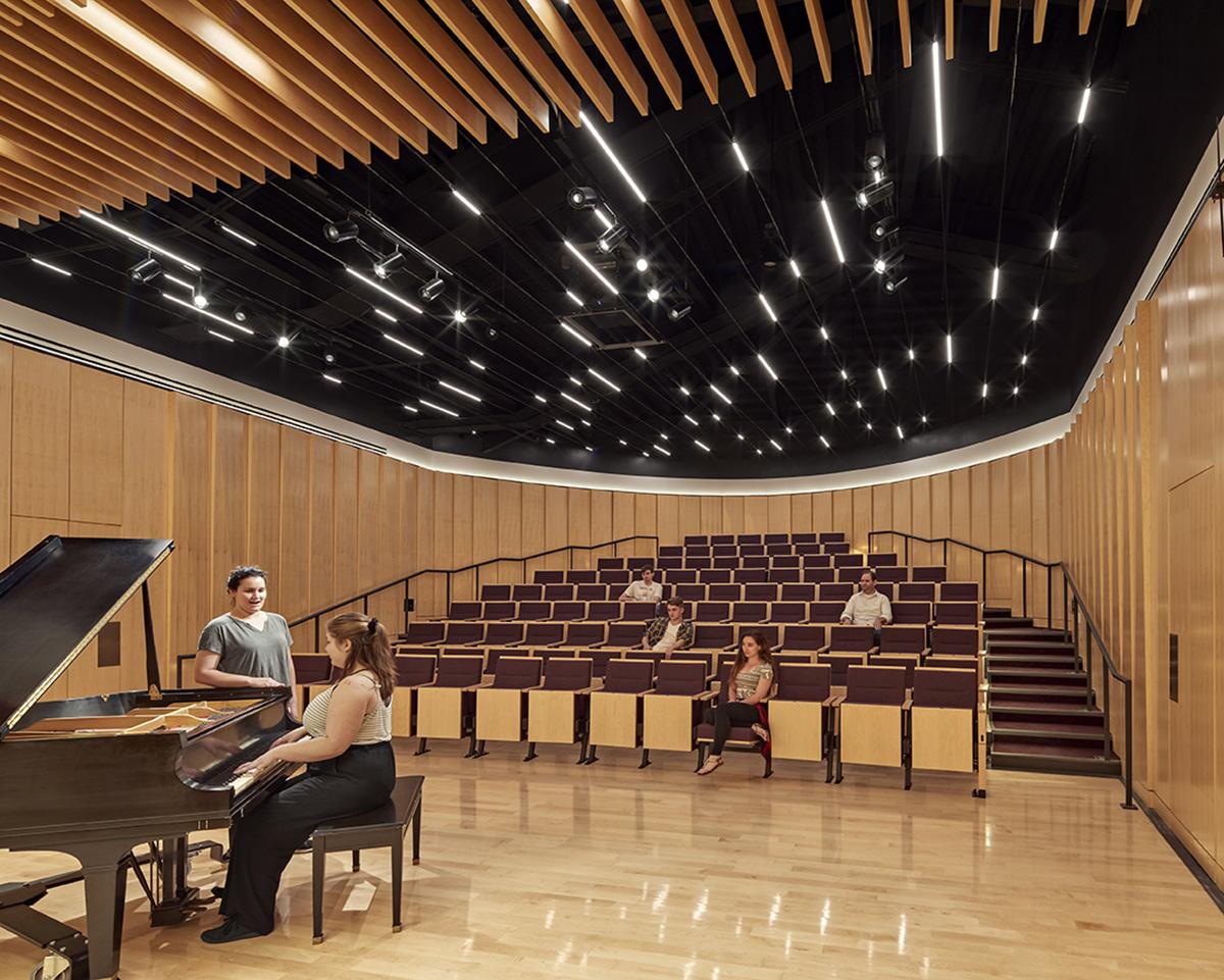 Music recital hall Robert Benson