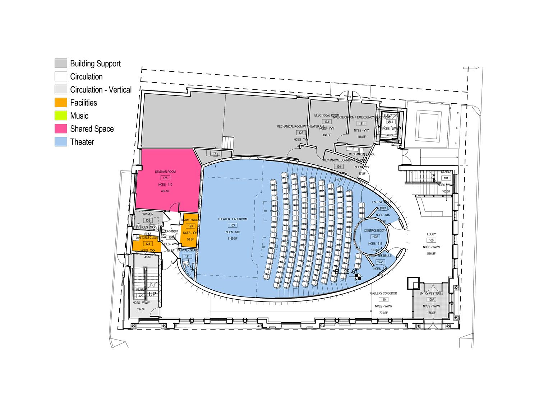 2nd floor plan Leers Weinzapfel Associates}