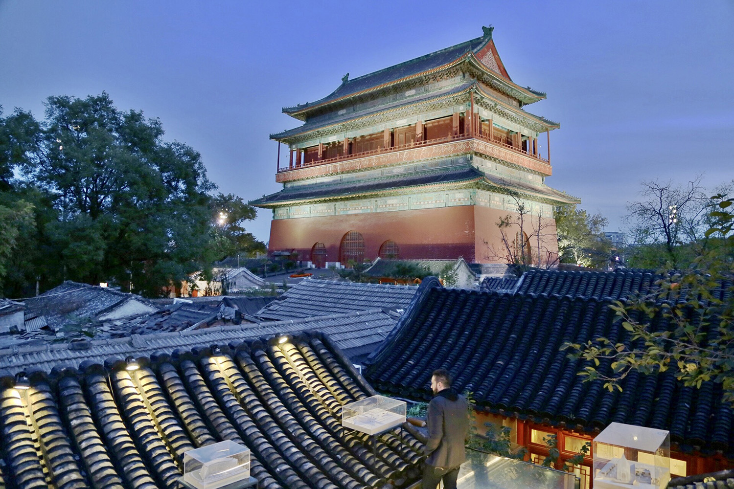 The south-western view of the roof © RSAA/ Büro Ziyu Zhuang