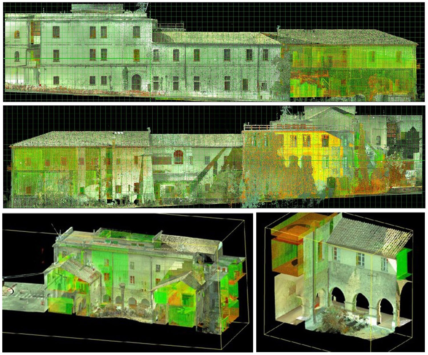 Rilievo con laser scanner Corvino + Multari}
