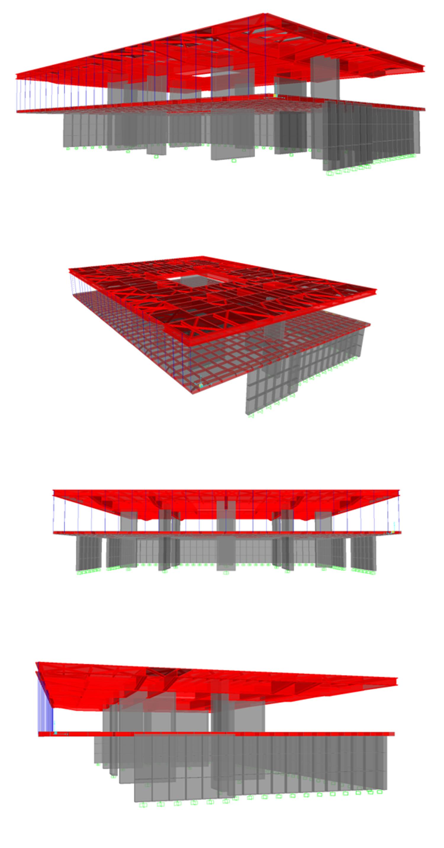 Modello strutturale Corpo 2 Corvino + Multari}