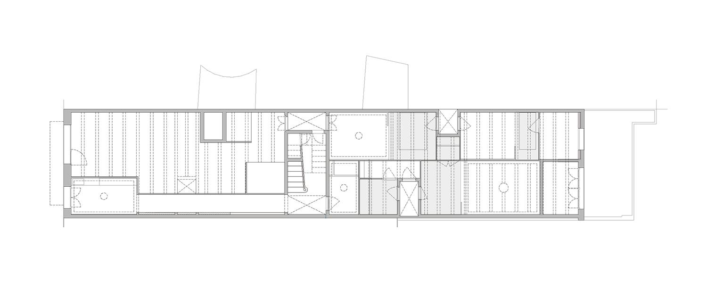 ground floor. final state, mezzanines vora}