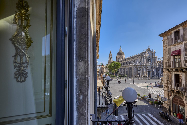 Vista su piazza Duomo Alessandro Gruttadauria di  AGphotoStudios