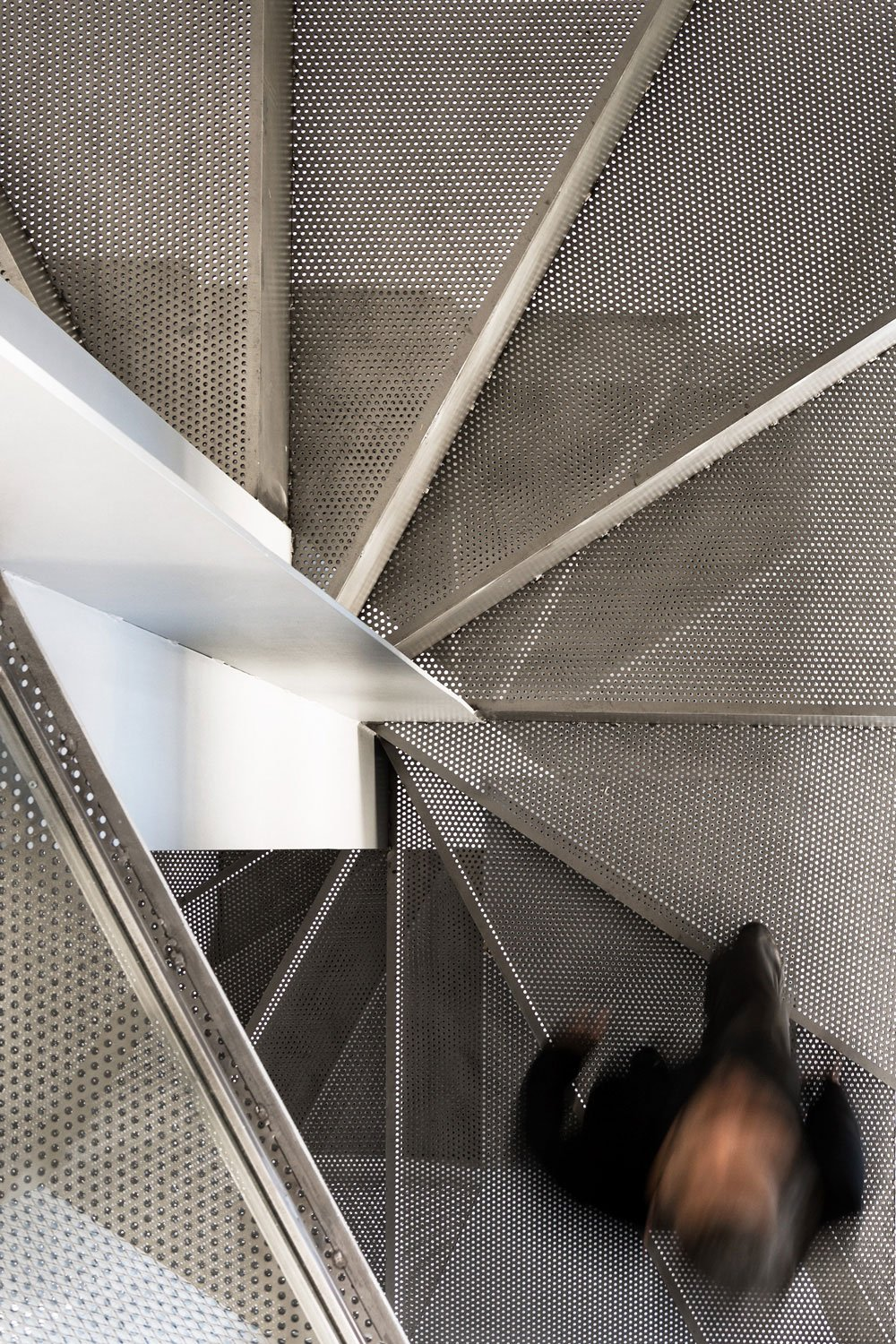 Staircase to first floor Simone Bossi